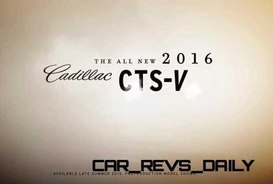 2016 Cadillac CTS Vseries Video Stills 72