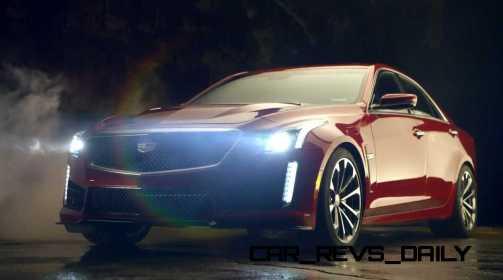 2016 Cadillac CTS Vseries Video Stills 85