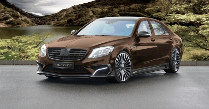 3.1s, 1000HP Mercedes-AMG S63 Is Latest MANSORY Monster 22