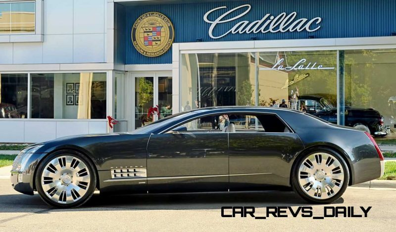 Concept Flashback - 2003 Cadillac Sixteen Hoped to Join $100k+ Limo Segment 18