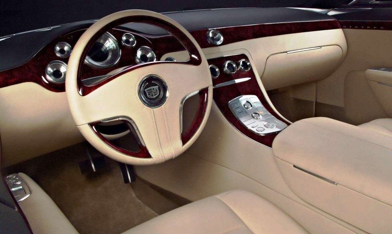 Concept Flashback - 2003 Cadillac Sixteen Hoped to Join $100k+ Limo Segment 51