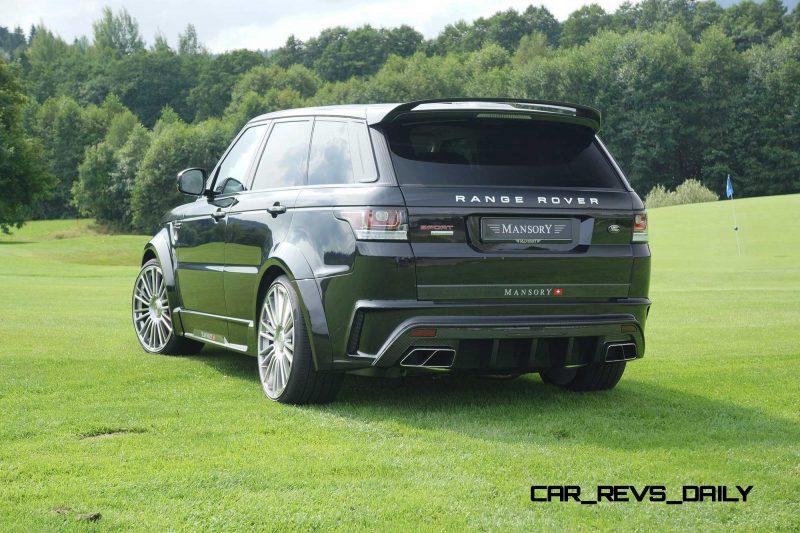 MANSORY Range Rover Sport 4