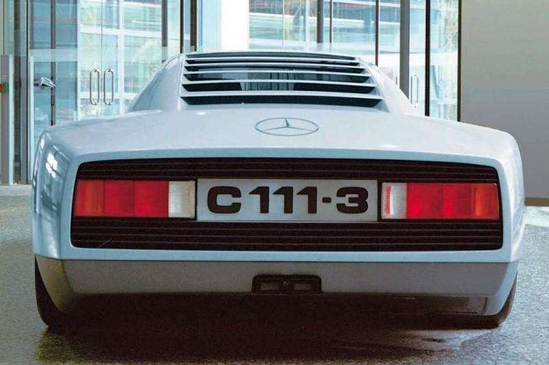 Mercedes C111-III2 Wing 2