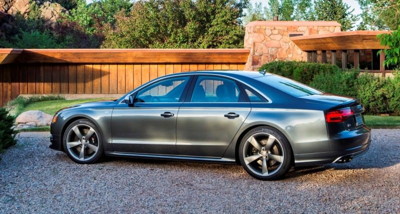 2015 Audi S8 with 520HP and 3.9s to 60MPH Is Quickest and Definitely The Coolest A8  42