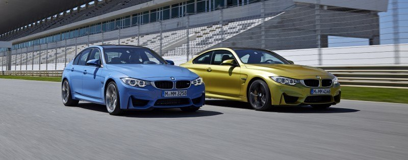 2015 BMW M3 and M4 Meet The Legacy in 52 New Photos With E30 Sport Evolution, E36 M3 Sedan, E46 and E90 10