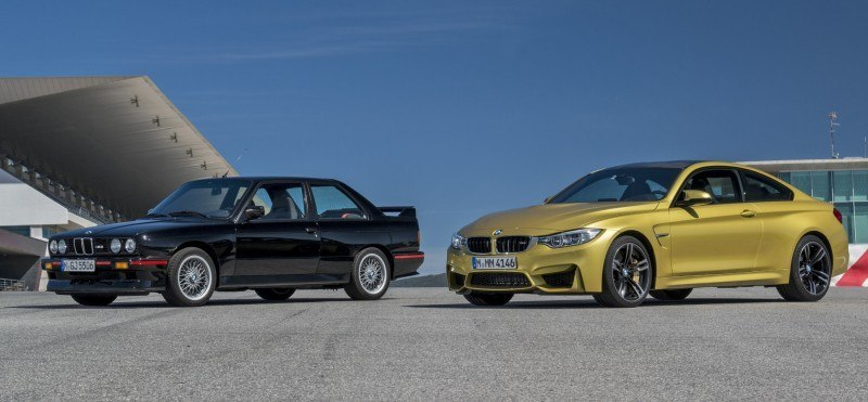 2015 BMW M3 and M4 Meet The Legacy in 52 New Photos With E30 Sport Evolution, E36 M3 Sedan, E46 and E90 17