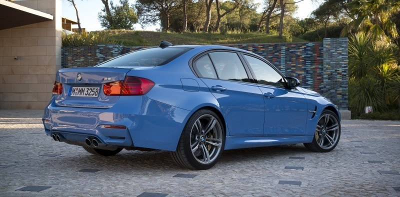 2015 BMW M3 and M4 Meet The Legacy in 52 New Photos With E30 Sport Evolution, E36 M3 Sedan, E46 and E90 37
