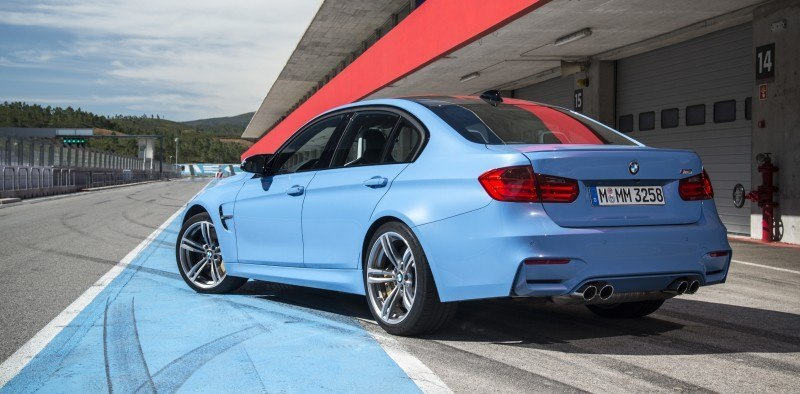 2015 BMW M3 and M4 Meet The Legacy in 52 New Photos With E30 Sport Evolution, E36 M3 Sedan, E46 and E90 41