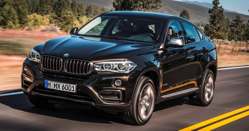 2015 BMW X6 Debuts Tech-tastic 445HP xDrive50i and New Rear-Drive sDrive35i 11