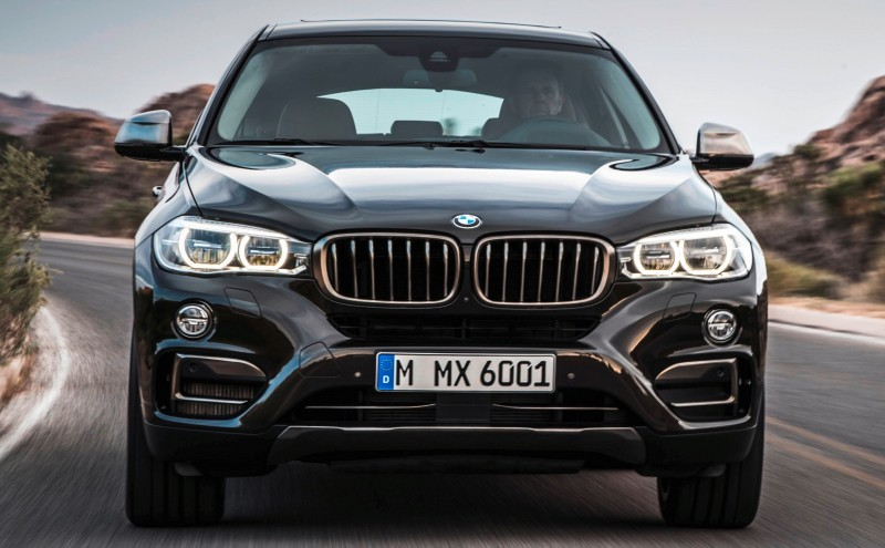 2015 BMW X6 Debuts Tech-tastic 445HP xDrive50i and New Rear-Drive sDrive35i 12