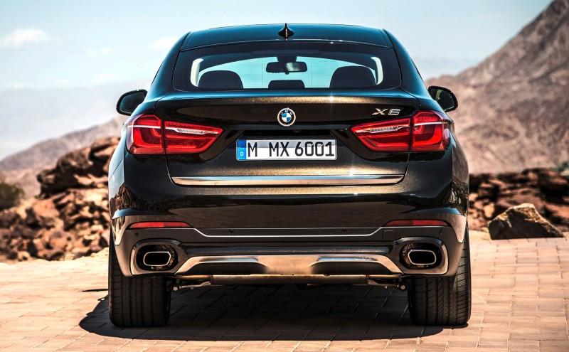 2015 BMW X6 Debuts Tech-tastic 445HP xDrive50i and New Rear-Drive sDrive35i 15