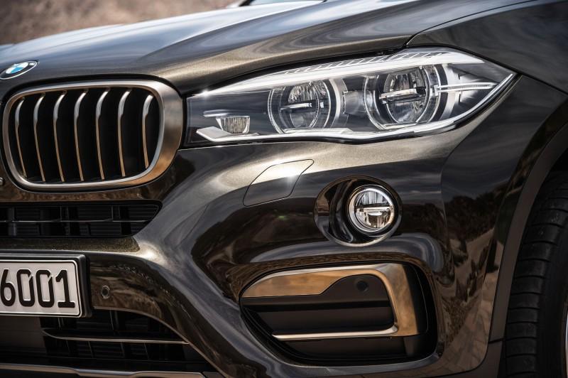 2015 BMW X6 Debuts Tech-tastic 445HP xDrive50i and New Rear-Drive sDrive35i 26