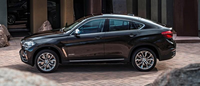 2015 BMW X6 Debuts Tech-tastic 445HP xDrive50i and New Rear-Drive sDrive35i 29