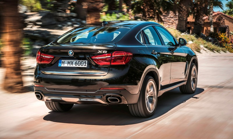2015 BMW X6 Debuts Tech-tastic 445HP xDrive50i and New Rear-Drive sDrive35i 3