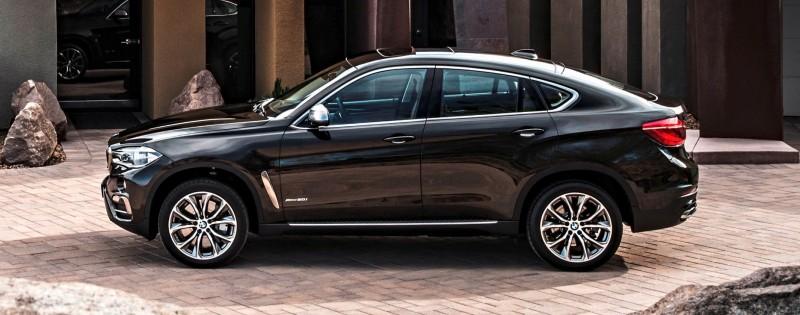 2015 BMW X6 Debuts Tech-tastic 445HP xDrive50i and New Rear-Drive sDrive35i 30