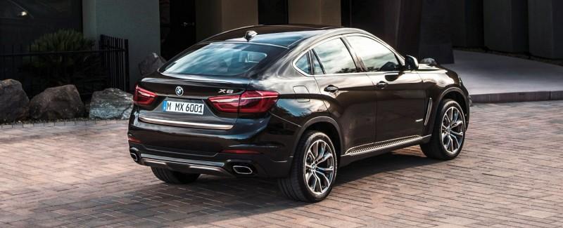 2015 BMW X6 Debuts Tech-tastic 445HP xDrive50i and New Rear-Drive sDrive35i 35