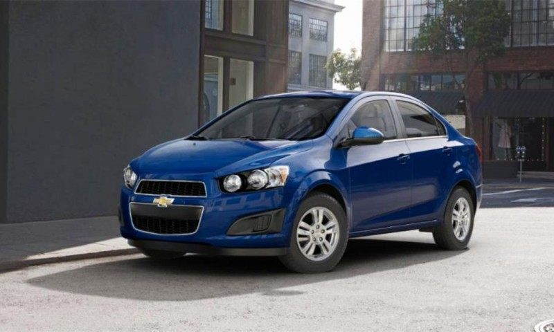 2015 Chevy Sonic RS Sedan COLORS and Buyers Guide Info 18