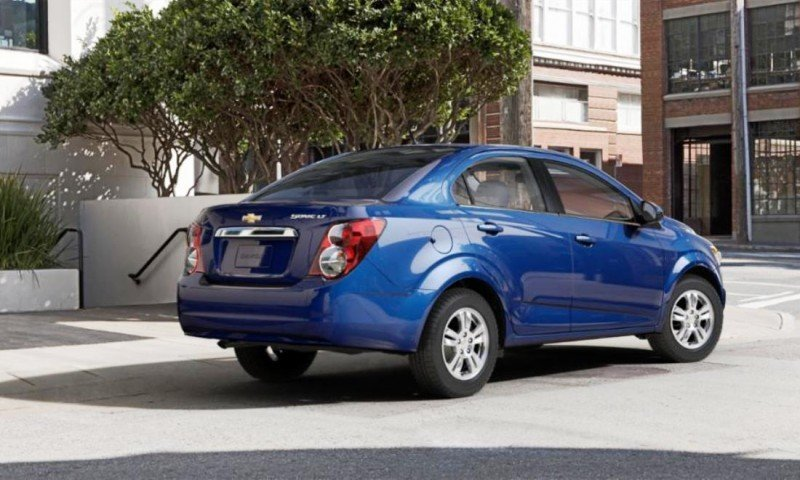 2015 Chevy Sonic RS Sedan COLORS and Buyers Guide Info 20
