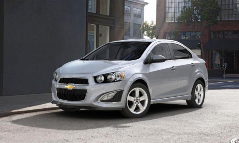 2015 Chevy Sonic RS Sedan COLORS and Buyers Guide Info 26