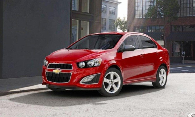 2015 Chevy Sonic RS Sedan COLORS and Buyers Guide Info 34