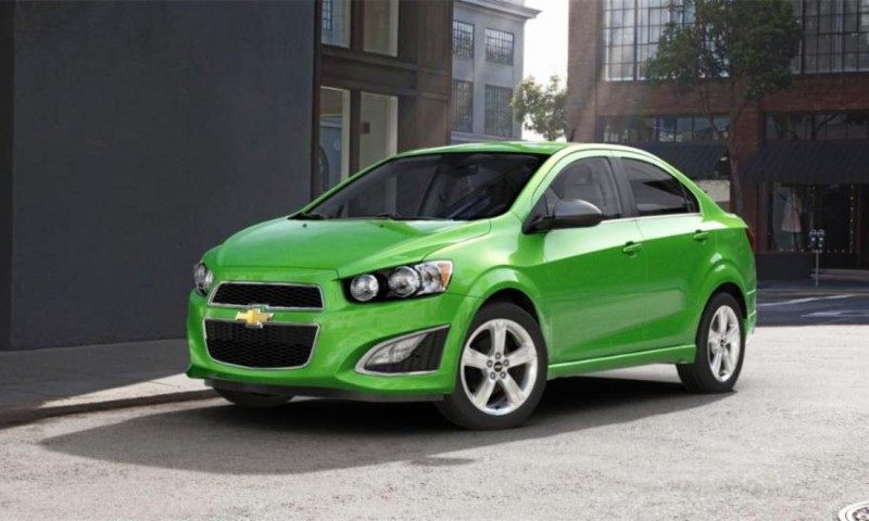 2015 Chevy Sonic RS Sedan COLORS and Buyers Guide Info 46