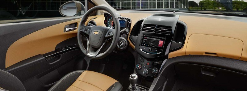 2015 Chevy Sonic RS Sedan COLORS and Buyers Guide Info 7