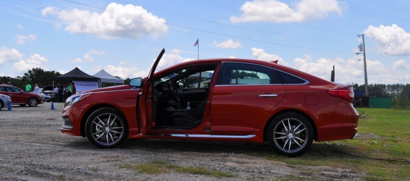 2015 Hyundai Sonata Sport 2.0T - 160 Photos From National Media Launch 57