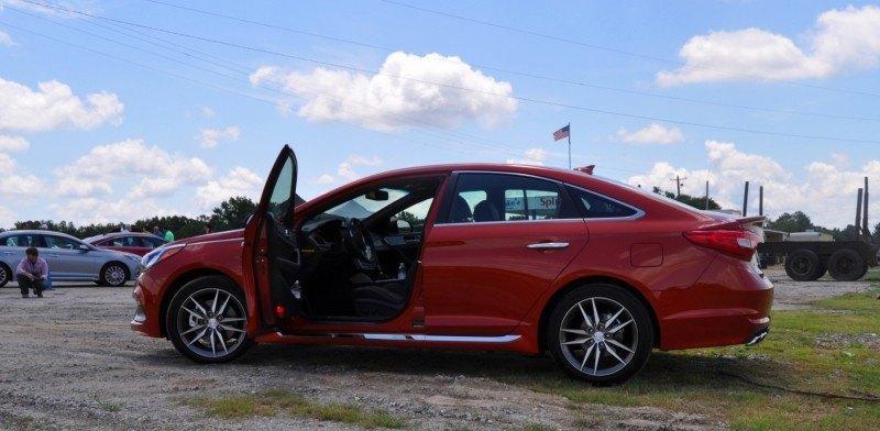 2015 Hyundai Sonata Sport 2.0T - 160 Photos From National Media Launch 58
