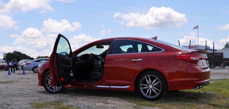 2015 Hyundai Sonata Sport 2.0T - 160 Photos From National Media Launch 60