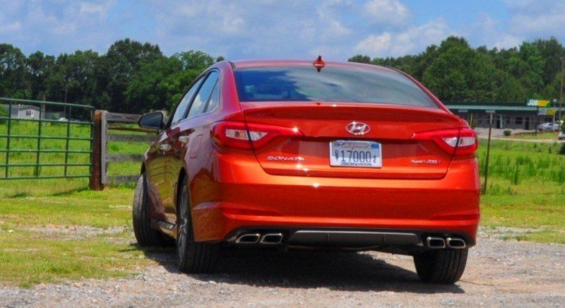 2015 Hyundai Sonata Sport 2.0T - 160 Photos From National Media Launch 97