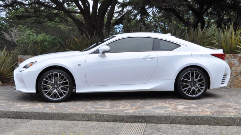 2015 Lexus RC350 F Sport EXCLUSIVE 8-Speed Auto, AWD, 4WS and Adaptive Suspension! 16