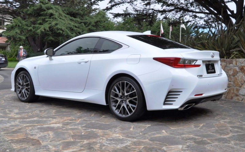 2015 Lexus RC350 F Sport EXCLUSIVE 8-Speed Auto, AWD, 4WS and Adaptive Suspension! 20