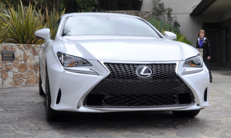 2015 Lexus RC350 F Sport EXCLUSIVE 8-Speed Auto, AWD, 4WS and Adaptive Suspension! 4