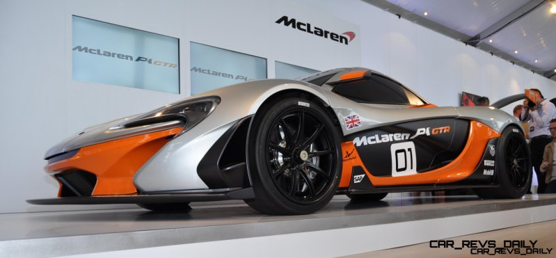 2015 McLaren P1 GTR - Pebble Beach World Debut in 55 High-Res Photos 32