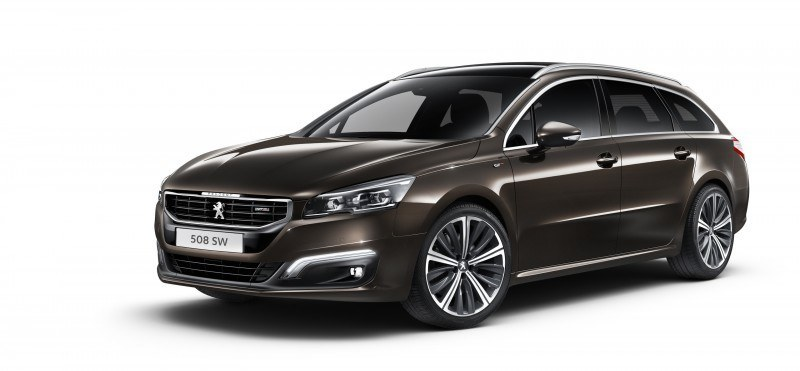 2015 Peugeot 508 Facelifted With New LED DRLs, Box-Design Beams and Tweaked Cabin Tech 20