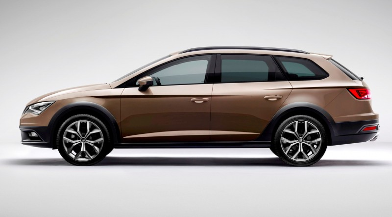 2015 SEAT Leon X-Perience Is Gravel-Ready Estate Car Coming to European Dealers In November 13