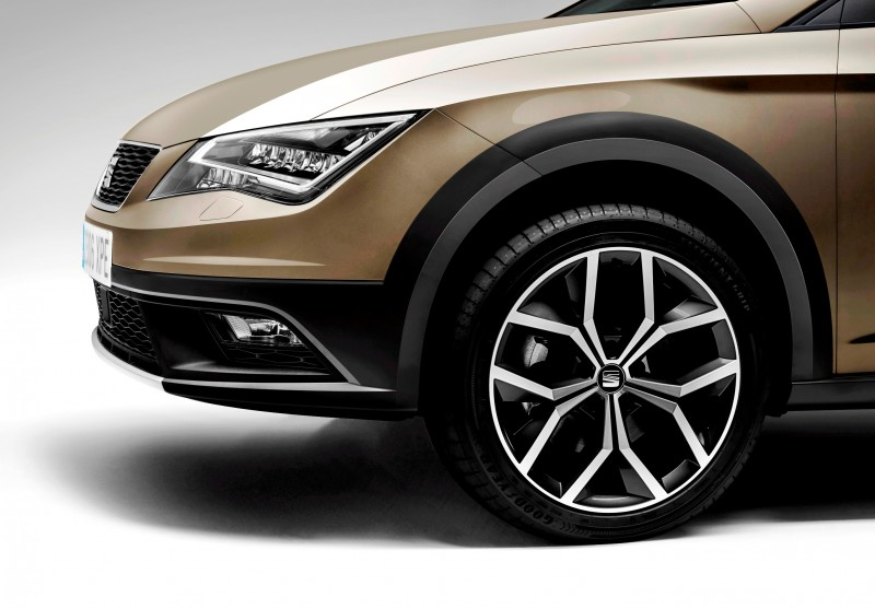 2015 SEAT Leon X-Perience Is Gravel-Ready Estate Car Coming to European Dealers In November 14