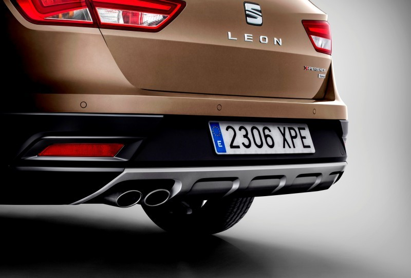 2015 SEAT Leon X-Perience Is Gravel-Ready Estate Car Coming to European Dealers In November 6
