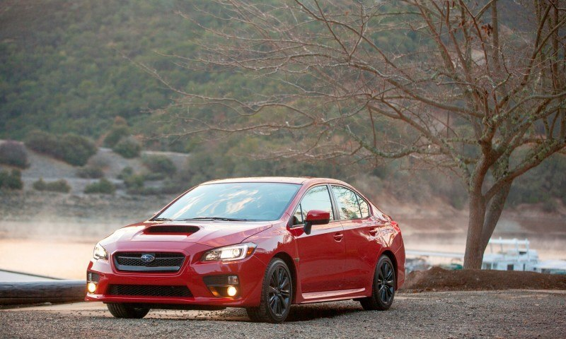 2015 Subaru WRX Hits The Gravel In 90 New Photos in Four Colors 13