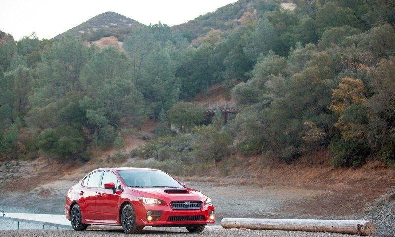 2015 Subaru WRX Hits The Gravel In 90 New Photos in Four Colors 21