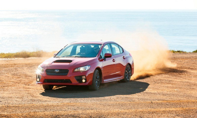 2015 Subaru WRX Hits The Gravel In 90 New Photos in Four Colors 29