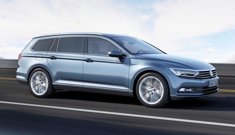 2015 Volkswagen Passat Debuts Fresh European-Model-Only Redesign 12