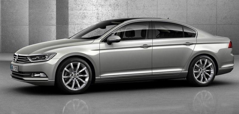 2015 Volkswagen Passat Debuts Fresh European-Model-Only Redesign 20