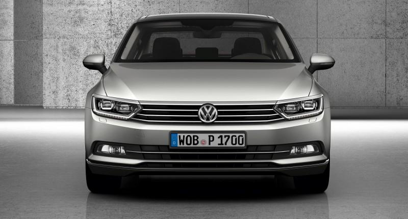 2015 Volkswagen Passat Debuts Fresh European-Model-Only Redesign 22