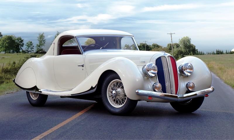 1938 Delahaye 135 MS Coupe by Figoni et Falaschi 1