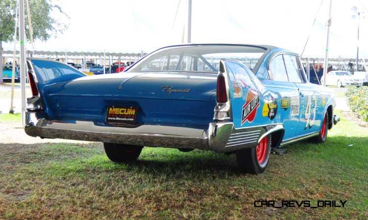 1960 Plymouth Fury NASCAR 10