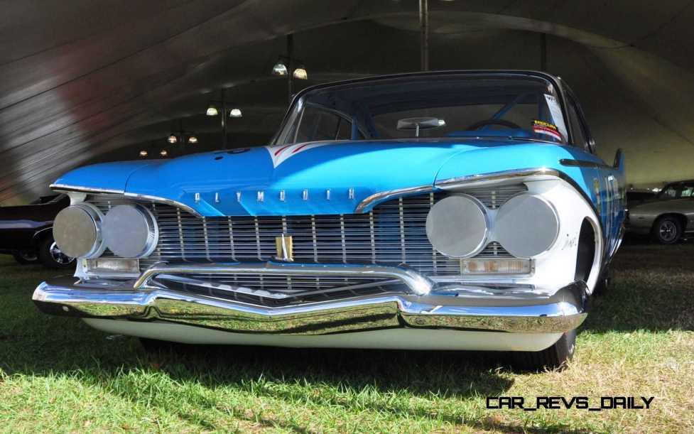 1960 Plymouth Fury NASCAR 25