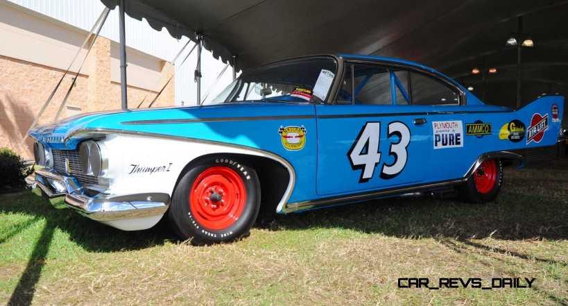 1960 Plymouth Fury NASCAR 29