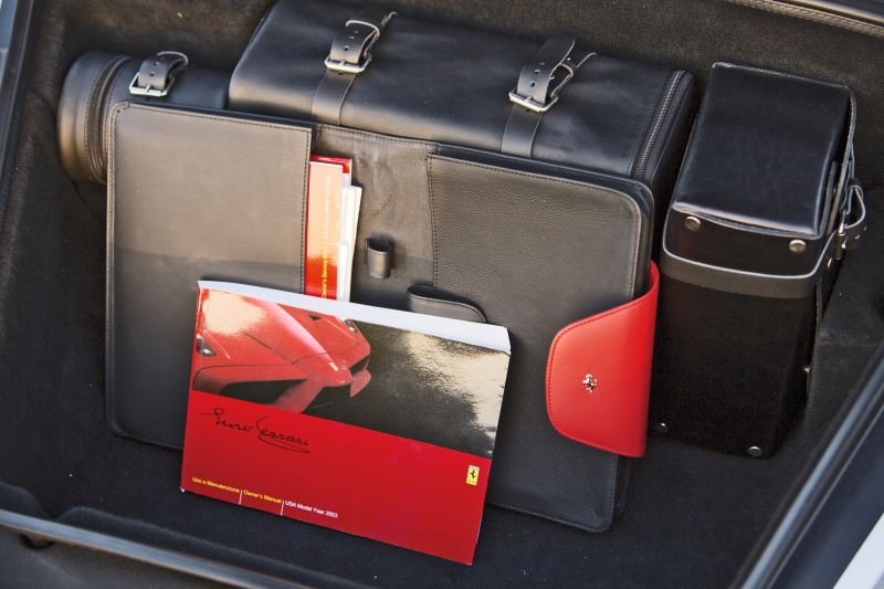 2003 Ferrari Enzo Silver 9