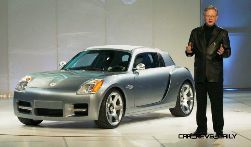 Dodge Sling Shot Concept World Debut Detroit Ð January 4, 2004 Ð